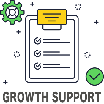 Growth support